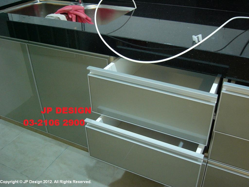 Jp design kitchen cabinet in selangor sunway shah alam for Kitchen decoration malaysia