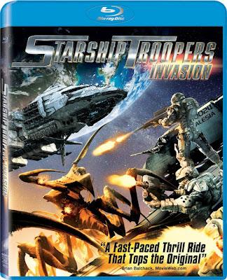 Starship Troopers Invasion (2012) 720p BRRip 680MB mkv Dual Audio (RESUBIDA)