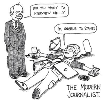wartawan modern