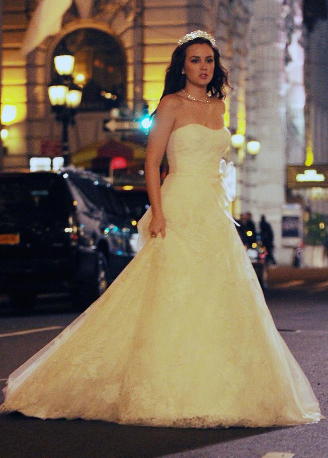 sfg blog de tendencias .: gg: el vestido de novia de blair waldorf