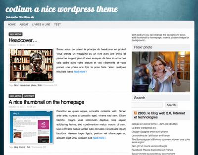 Codium Wordpress Theme