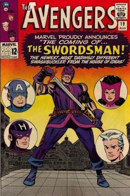 Avengers #19, Swordsman