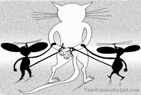 Cat Custody of mouse