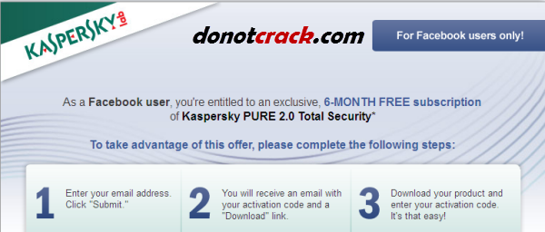 Check inbox. kaspersky total security 2013 with key.