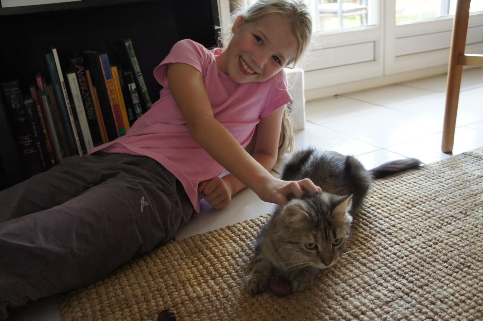 L'olw et le chat chatte