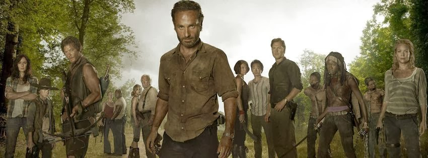 Photo couverture facebook walking dead