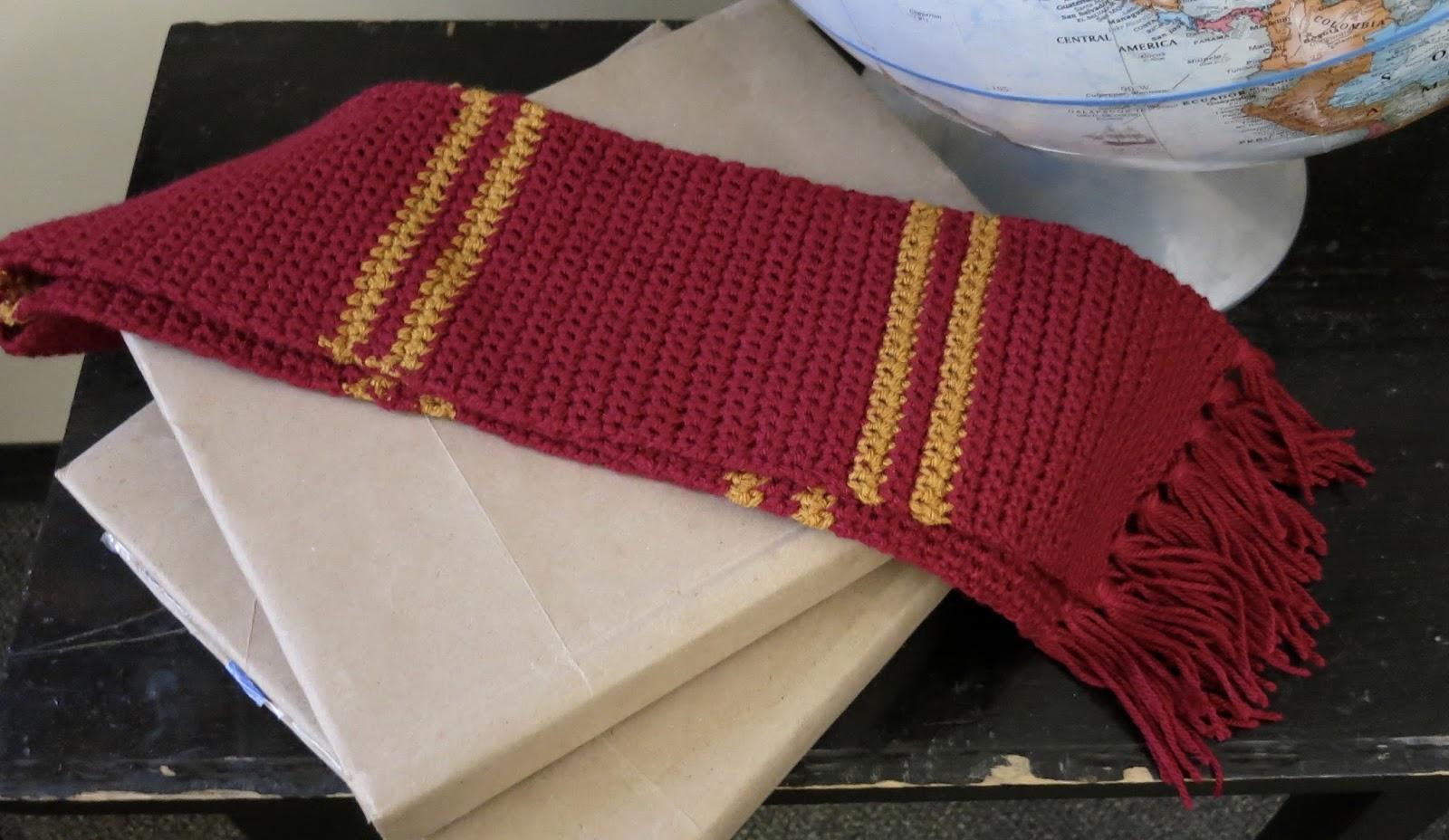 Da\'s Crochet Connection: Hogwarts House Scarf