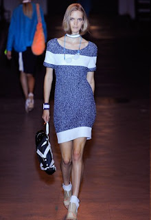 Rag & Bone blue shift dress
