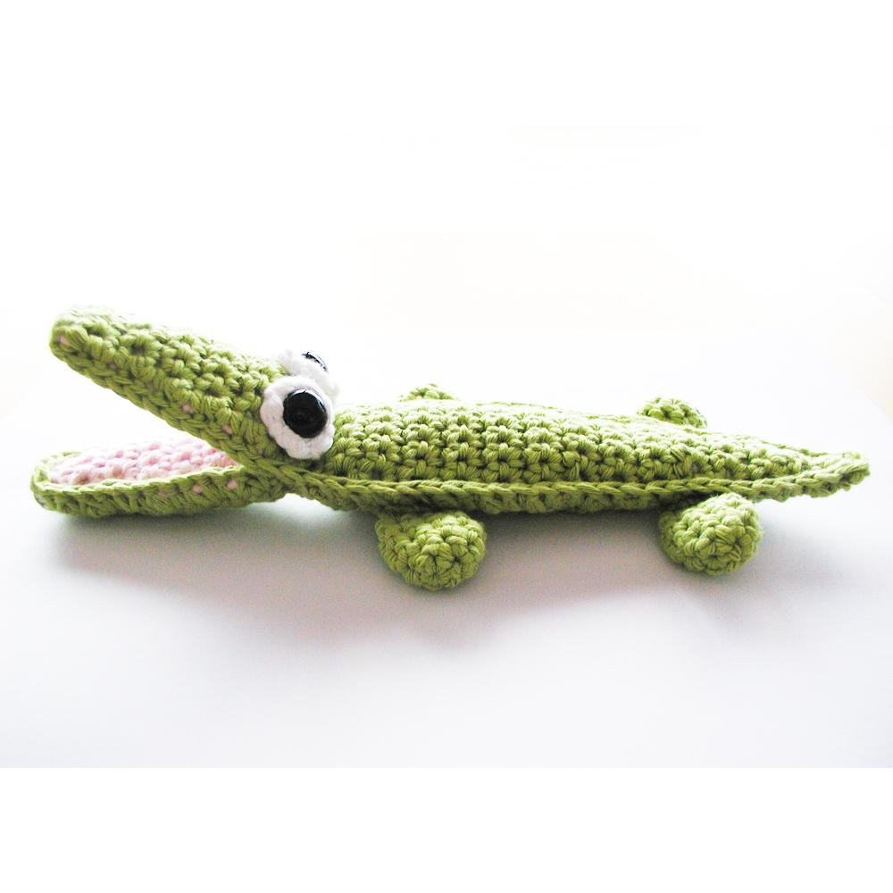 Amigurumi Alligator Free Pattern : For the Love of Crochet Along: Crochet Crocodile