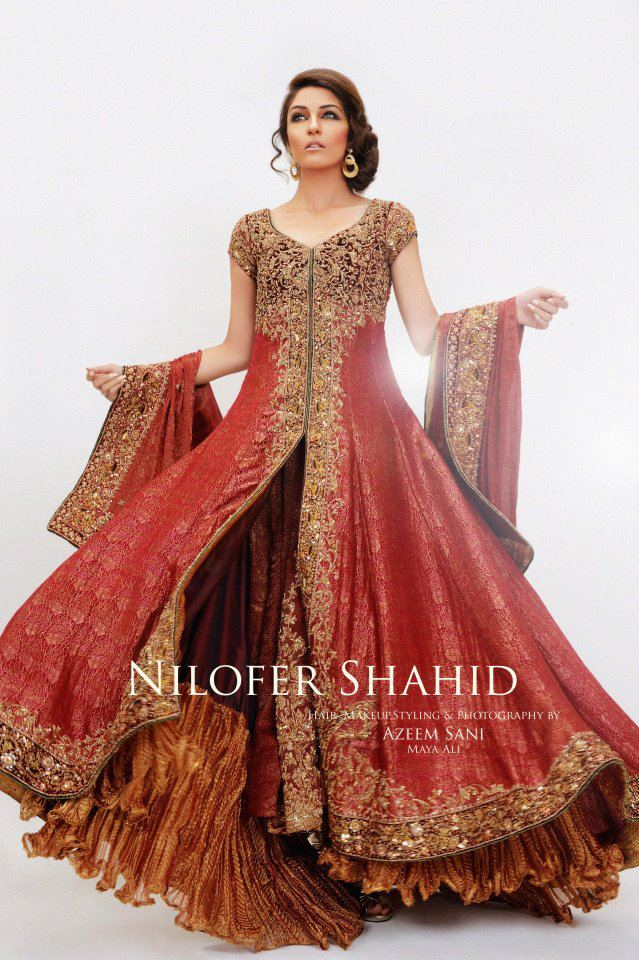 Bridal Wear Pakistani Bridal Dresses Designer Bridal Dress Gharara 92