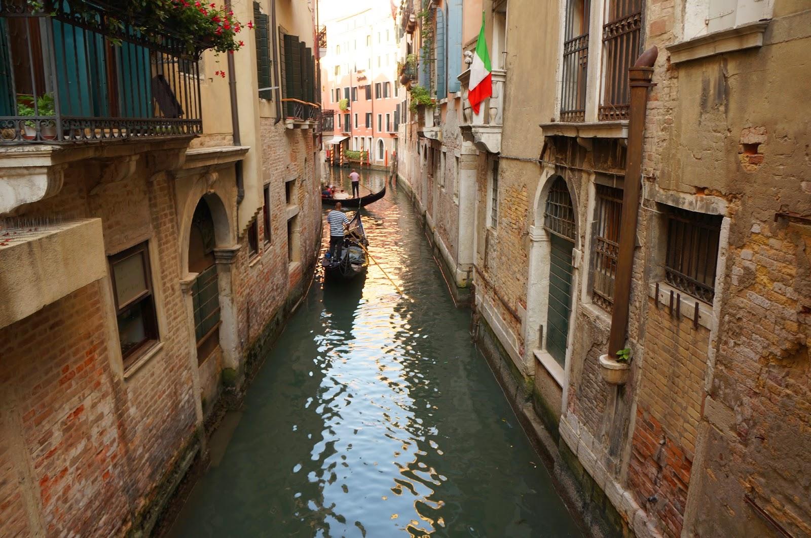 Тихие улицы Венеции