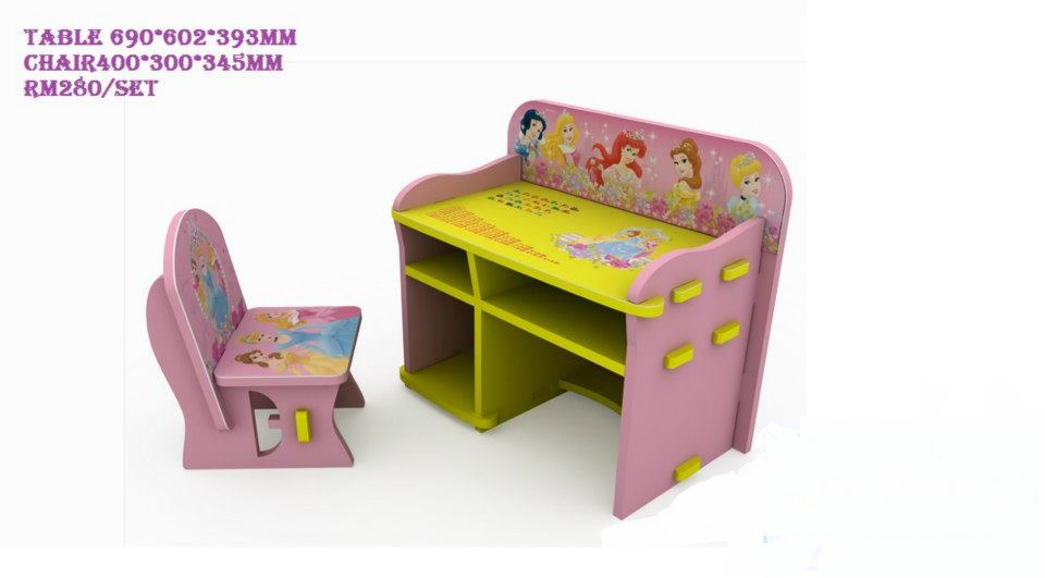 Babynkidsstuff: Disney Children Table and Chair Set