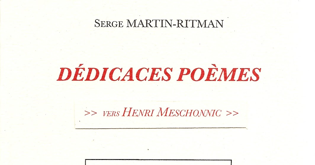 Ta rencontre poeme