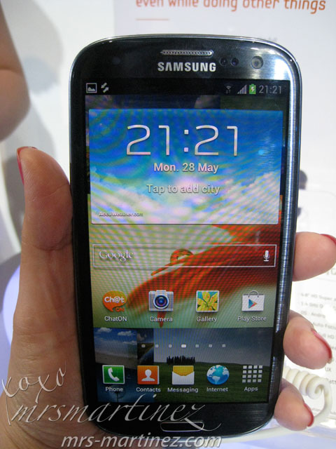 Samsung Galaxy S3 Available In June 2012 For Php32 990