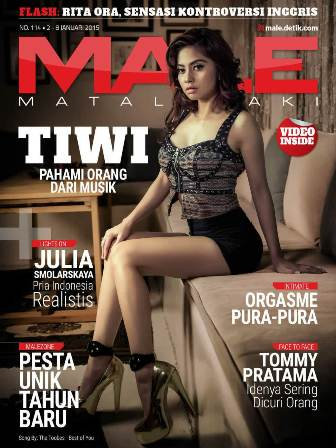 Download Gratis Majalah MALE Mata Lelaki Edisi 114 Cover Model Tiwi| MALE Mata Lelaki 114 Indonesia | Cover MALE 114 Tiwi | www.insight-zone.com