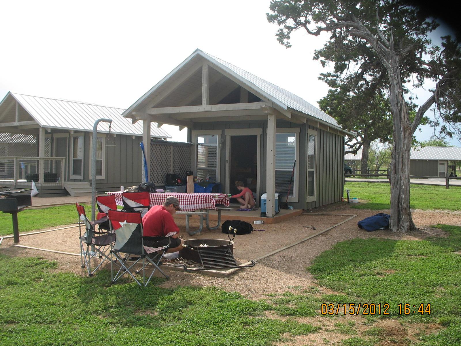 Spring Break Camping  Black Rock Park, Lake Buchanan