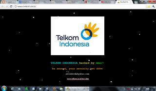 Hmei7 Hack Empat Situs TELKOM
