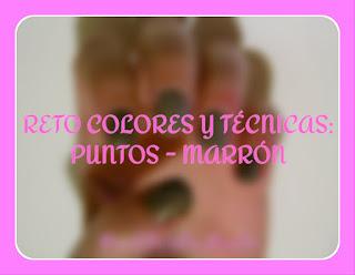 http://pinkturtlenails.blogspot.com.es/2015/05/reto-colores-y-tecnicas-puntos-marron.html