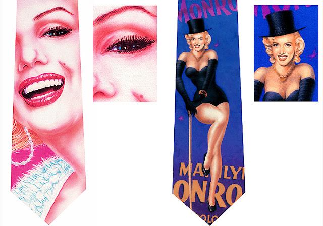 Sexy Marilyn Monroe Ties