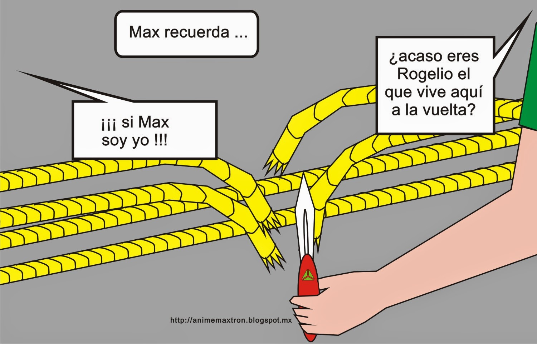 Unidad MÁXTRON historieta cómica 0009 http://animemaxtron.blogspot.mx