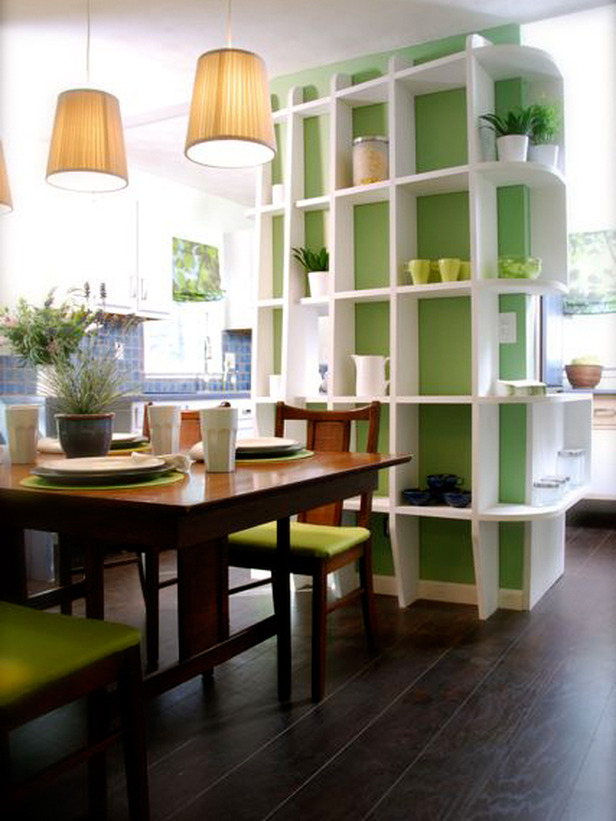 Modern furniture 2011 ideas for small spaces decorating for Small dining room storage ideas