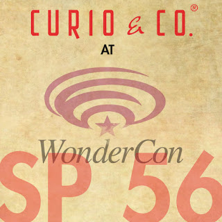 Curio and Co. Curio & Co. www.curioandco.com - Design and Concept Cesare Asaro Kirstie Shepherd. at WonderCon 2012 Booth SP-56