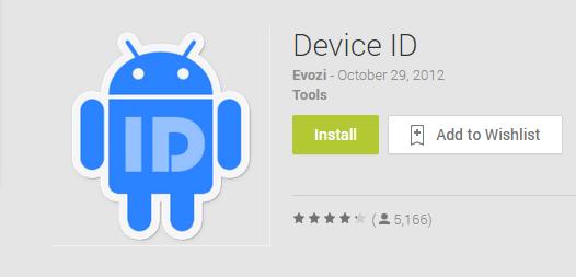 Cara Mengetahui Device ID (16 Digit) pada smartphone / Tablet Android