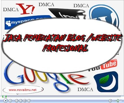 JASA PEMBUATAN BLOG/WEBSITE MURAH