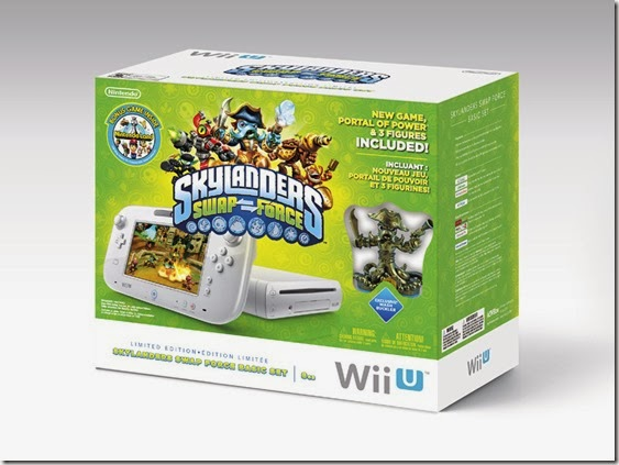 Skylanders SWAP Force Wii U Bundle