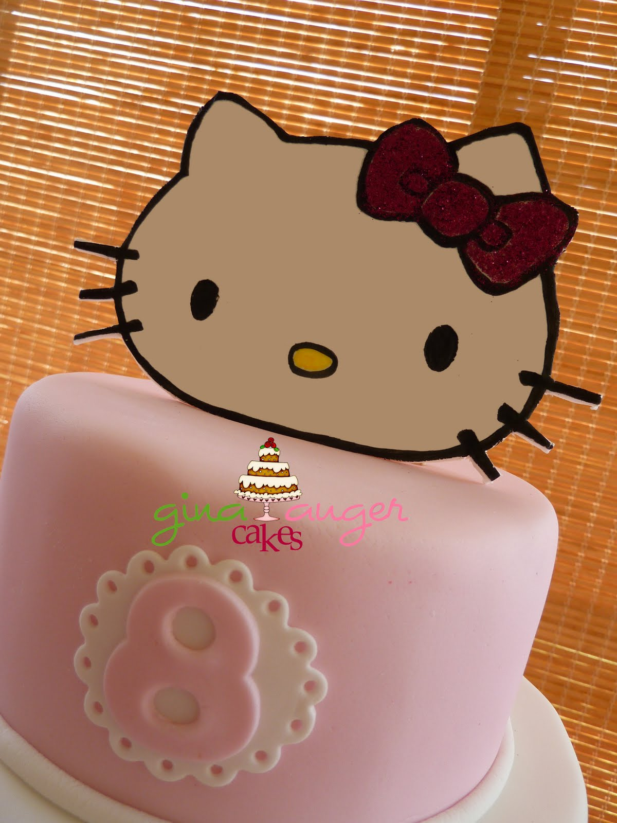 8Th Birthday Cake Ideas http://topthatcake.blogspot.com/2011/04/hello-kitty-caitlins-8th-birthday-cake.html