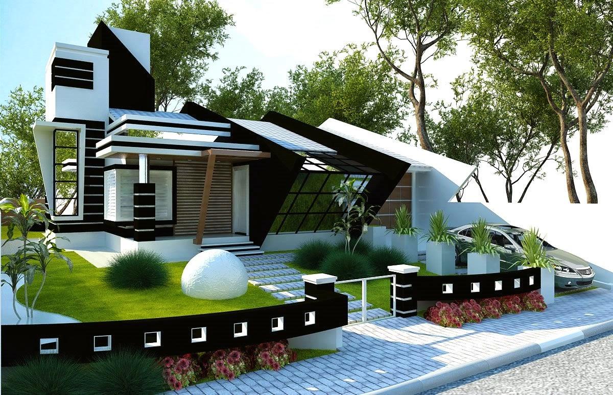Construindo minha casa clean 30 fachadas de casas modernas dos sonhos for Casas modernas para construir