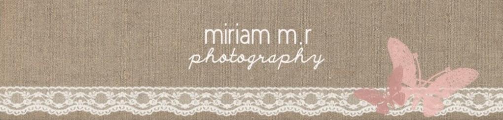 Miriam M.R. Fotografía