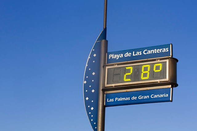 The weather in Gran Canaria in February is variable but mostly sunny
