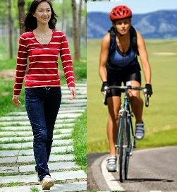 water weight loss running vs walking