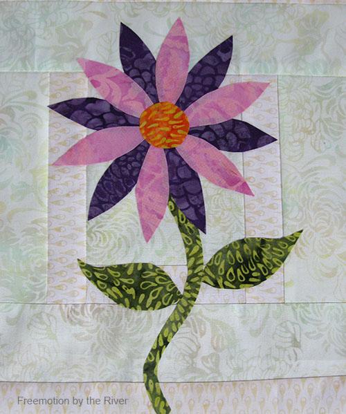 Daisy in Full Bloom batiks