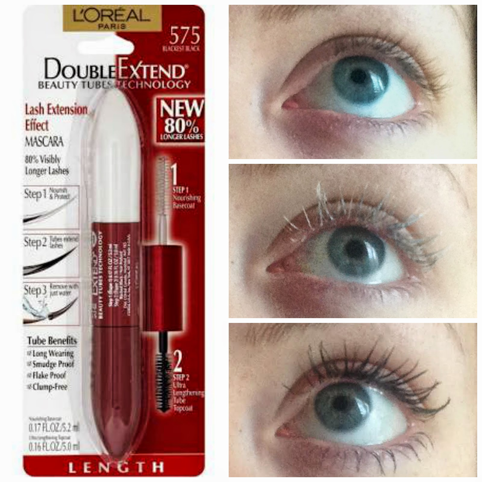 Just Brit: Best Mascara Loreal Double Extend Beauty Tubes