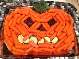 healthy halloween treats, veggie halloween, healthy jack o lantern