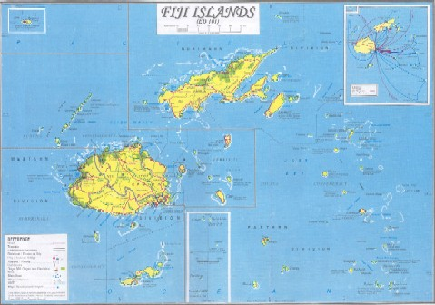 FIJI ISLANDS THE PARADISE OF EARTH FIJI PRESS Matanitu TuVaka