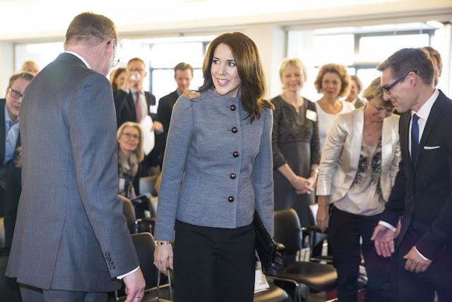 HRH The Crown Princess Mary of Denmark attended ceremony of the Women's Board Award 2015