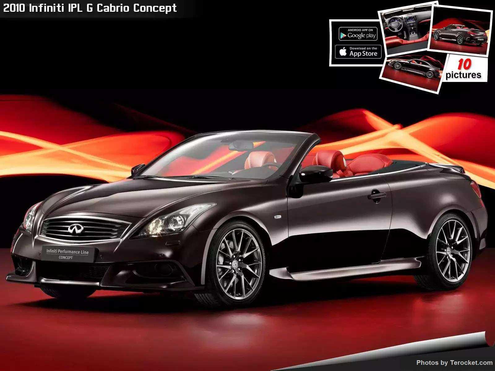 Hình ảnh xe ô tô Infiniti IPL G Cabrio Concept 2010 & nội ngoại thất