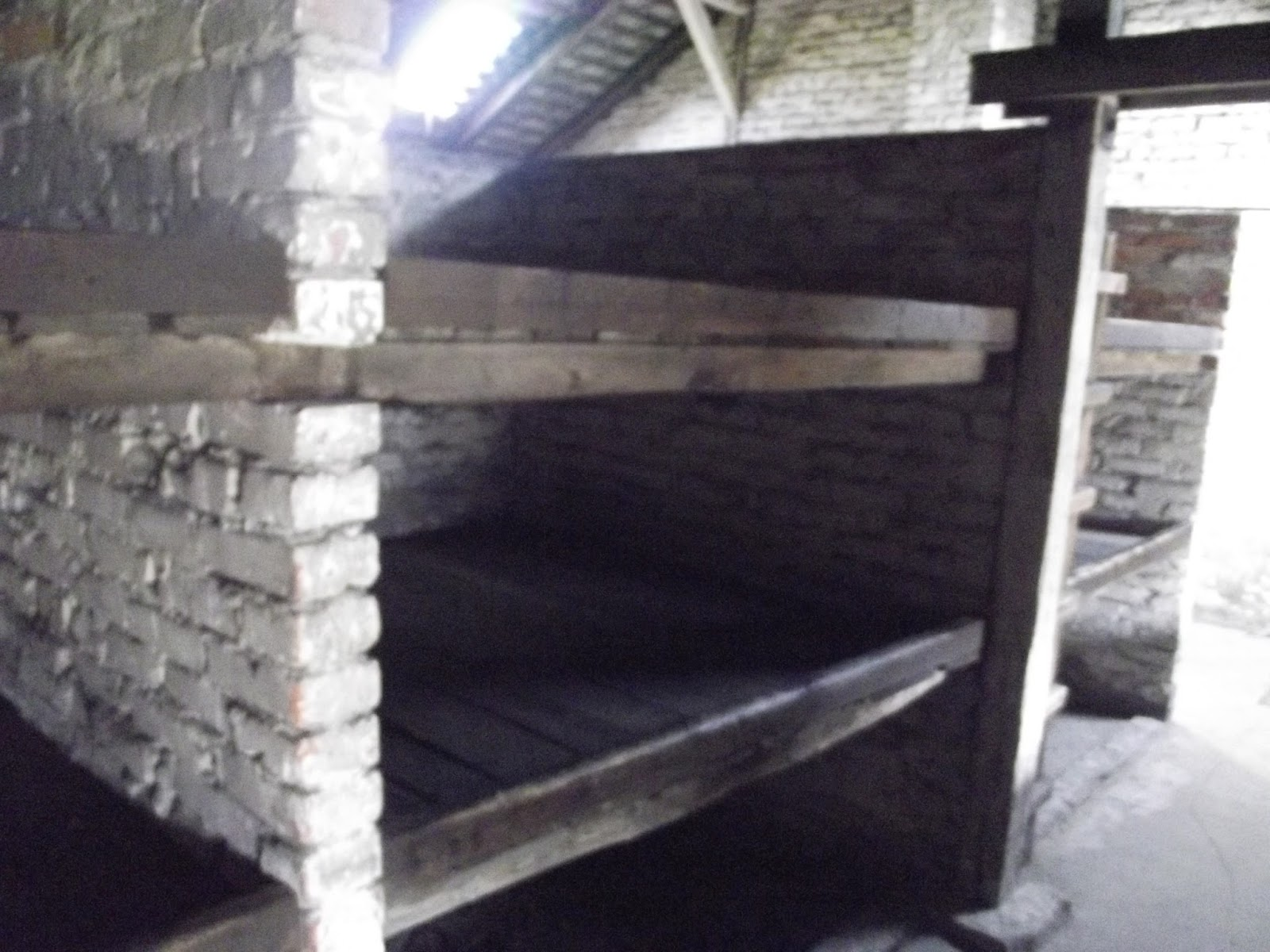 Auschwitz II prisoner barrack