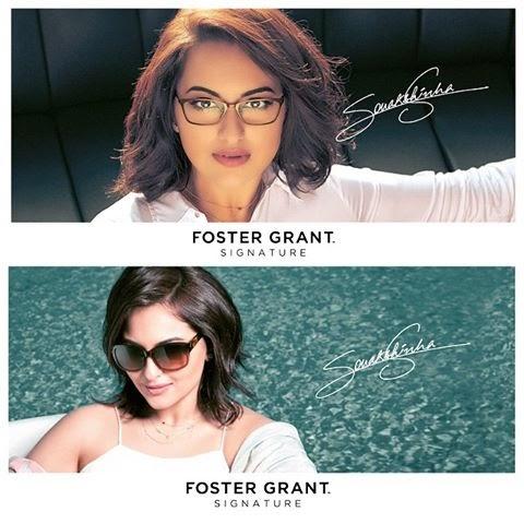 Sonakshi Sinha a new Brand Ambassador of Foster Grant Eyewear!!
