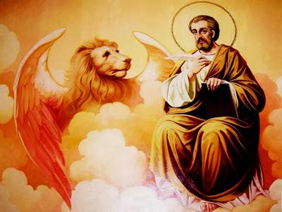 Evangelista San Marcos con el león