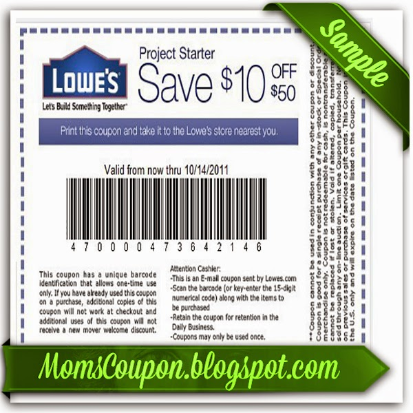 Active Lowes Coupons 2015