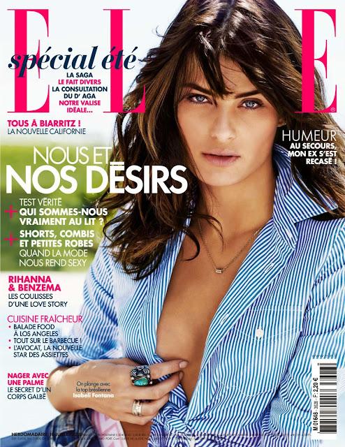 Fashion Model @ Isabeli Fontana - Elle  France, July 2015