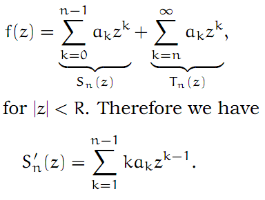 Complex Analysis: #6 Power Series equation pic 4