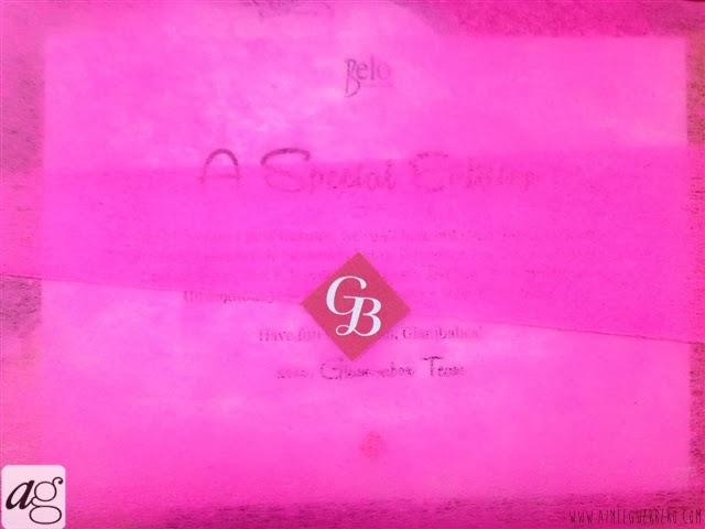 Glamourbox Exclusive Belo Box 2014