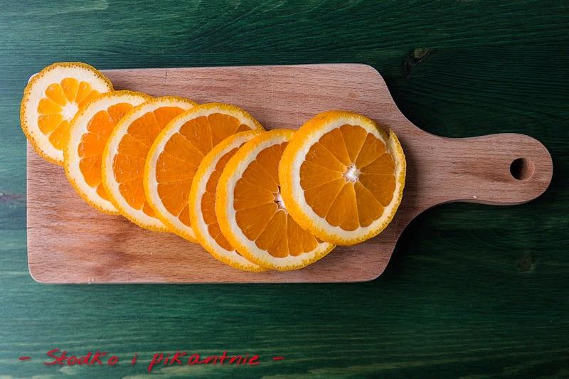 Pocięte pomarańcze