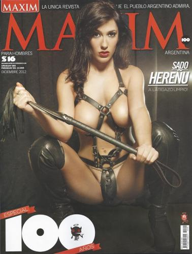 revista maxim argentina septiembre 2012, jesica hereñu hot