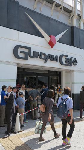 Gundam Cafe Akihabara, Tokyo